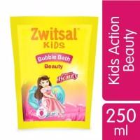 Zwitsal Kids Bath Beauty Pink Refill Pouch 250 ml