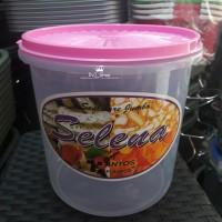 Toples Makanan /Kerupuk Selena 5 Liter