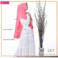 Jilbab Hijab Instan khimar Premium DAFFI Df167 Dua Layer Guava