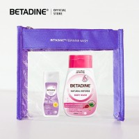 Travel Pack Betadine Pomegranate 200mL With Liquid Immortelle 50mL