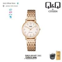 Q&Q QnQ QQ Original Jam Tangan Wanita Stainless Steel - QA21 QA21J