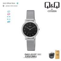 Q&Q QnQ QQ Original Jam Tangan Wanita Analog - QA21 QA21J 3 BAR