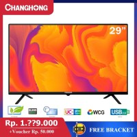 29 INCH LED TV CHANGHONG 29G3 HD TV-HDMI-USB MOVIE-L29G3