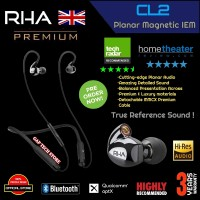 RHA CL2 / CL 2 Planar Premium Wireless & Wired Planar Magnetic IEM