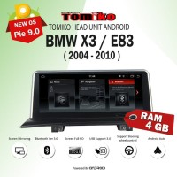 HEAD UNIT Android Tomiko BMW X3 / E83 Ram 4GB