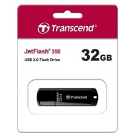 FLASHDISK TRANSCEND JETFLASH 32GB BLACK