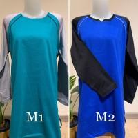 SH2226 Baju olahraga muslim kaos tunik senam muslimah seragam wanita