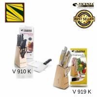 Jual Pisau set Vicenza / Stainless Steel Knife Set V910K ...