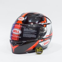 Helm Bell Qualifier Flare Red