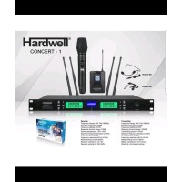 MIC WIRELESS HARDWELL CONCERT 1 1BH MIC PEGANG - 1BH CLIP ON - HEADSET