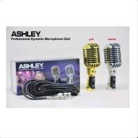 Mic Clasic ASHLEY 55 ST Microphone Kabel Original