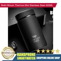 HS Termos Air Panas Hitam Mini Botol Minum Thermos Stainless Steel