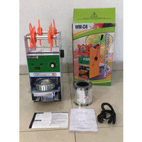 Cup Sealer Mesin Press Gelas WILLMAN WM-D8 + Roll Gojek GARANSI RESMI