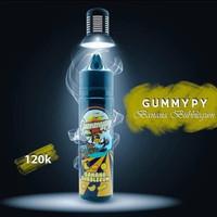 Liquid Gummypy Banana Bubblegum 3Mg 60ML Liquid permen karet Pisang