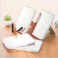 Kaca Rias MakeUp Kreatif Cermin Lipat Persegi Portable Beauty Mirror-U