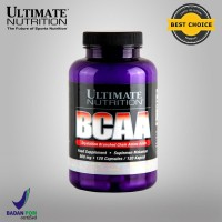 BCAA, 500 mg, 120 Caps - Ultimate Nutrition Official