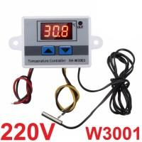 Thermostat Digital AC 220V XH W3001 Termostat Alat Pengatur Suhu Panas