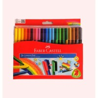 Connector Pen FABER CASTELL 20 Warna | Spidol Warna