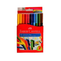 Connector Pen FABER CASTELL 10 Warna | Spidol Warna
