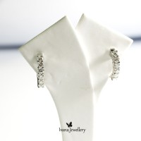 Anting Berlian Hoop - Ivana Jewellery