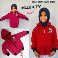 Jaket Hello Kitty Bolak balik
