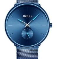 Zalora jam tangan pria fashion simple bisnis sport stainless steel wat
