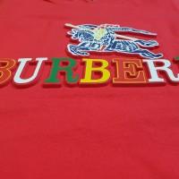 Tshirt / Kaos Merah Burberry