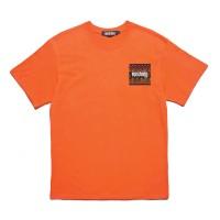 Upstain Wear Orange T-Shirt Ethnic