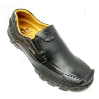 Gats TO 2201 Hitam Sepatu Kulit High Quality ORIGINAL