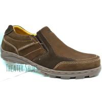 Gats TO 2206 Brown Sepatu Kulit High Quality ORIGINAL
