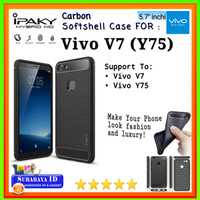 Casing SoftCase iPaky Vivo V7 (Y75) 5.7"
