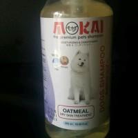 mokai oatmeal dog shampoo 550 ml