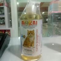 mokai oatmeal cat shampoo 550 ml