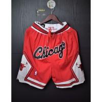 Celana Basket.CHICAGO BULLS 1997-1998HARDWOOD CLASSICS.Swingman Shorts