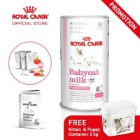Royal Canin Baby Cat Milk Susu Bayi Kucing 300gr Free Container