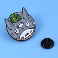 Pin Totoro Kaonashi Ponyo Ghibli Bros Brooch