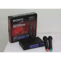 Mic Wireless SONY SN-222 Microphone 2 Pegang