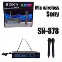Mic Wireless Sony SN 878