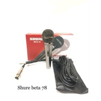 mic shure kabel beta 78