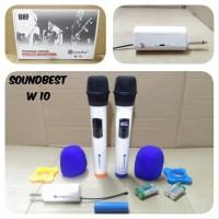Mic Wireless Soundbest W10 Original Produk