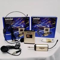 Mic Wireless SHURE M 03HC Jepit Headset