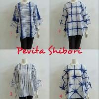 batik blus pevita shibori