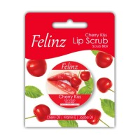 Felinz lip scrub cerry kisah original