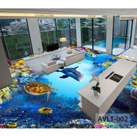 Wallsticker lantai Custom 3D- Wallsticker Lantai Murah