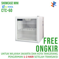 Showcase Starcool CTC-60 Liter Display Cooler Free Ongkir