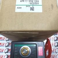 """Solenoid Valve 2Way APK11-25A-C4A CKD 1"""" 220V Japan"""