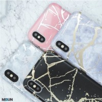 Marble Holo Case softcase full print full cover All iPhone 5 6 7 8 X