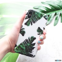 PALM CASE Softcase Full Cover iPhone 6 6s 6 6s 7 8 7 8 X Xs