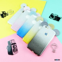 MICKEY GLITTER JELLY iPhone Samsung J5 Grand Prime