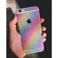 Glitter sticker 5 warna 1 iPhone 5 6 7 plus Samsung